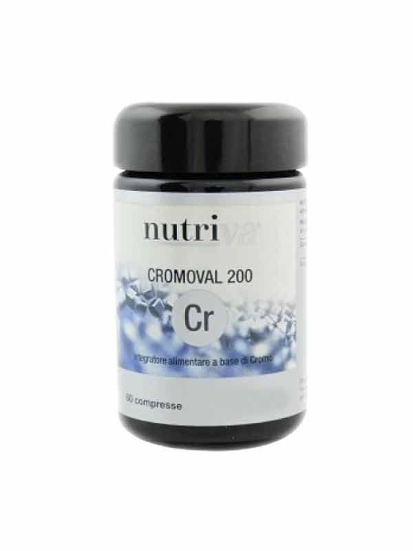 NUTRIVA CROMOVAL 200 60 COMPRESSE