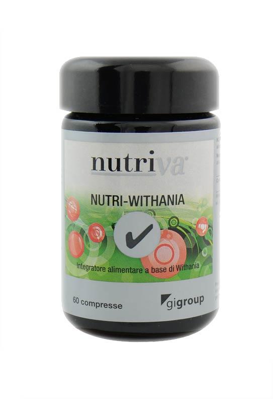 NUTRIVA NUTRI WITHANIA INTEGRATORE TONICO ADATTOGENO - 60 COMPRESSE