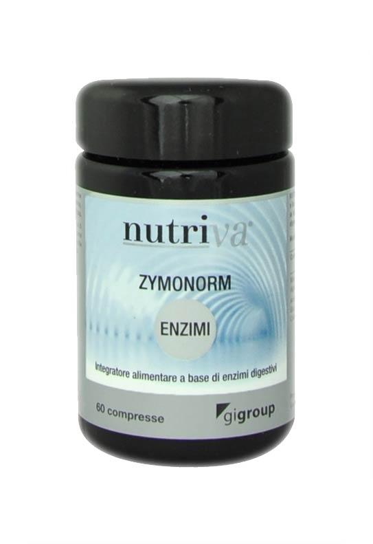 NUTRIVA ZYMONORM INTEGRATORE LE FUNZIONI DEL SISTEMA DIGESTIVO - 60 COMPRESSE