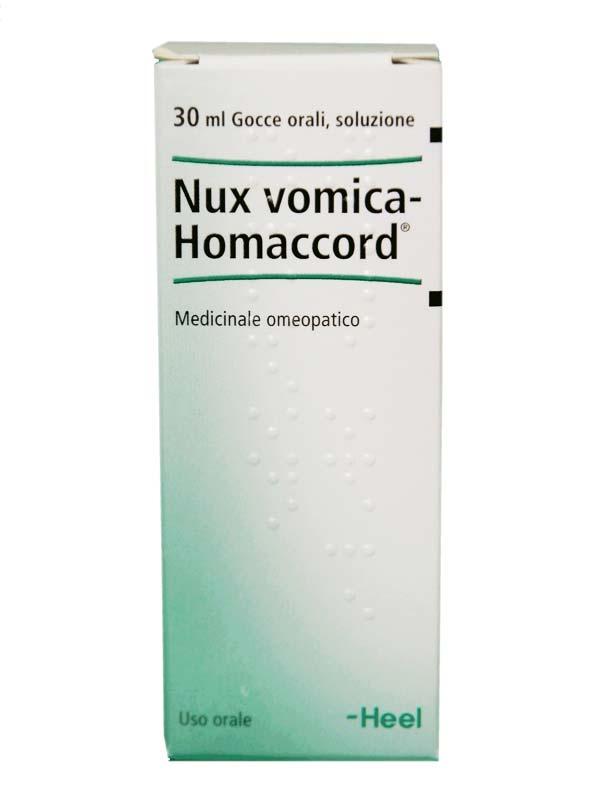 NUX VOMICA HOMACCORD GOCCE 30 ML