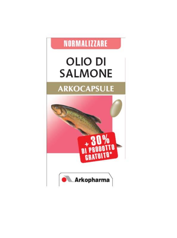 OLIO DI SALMONE ARKOCAPSULE 60 PERLE