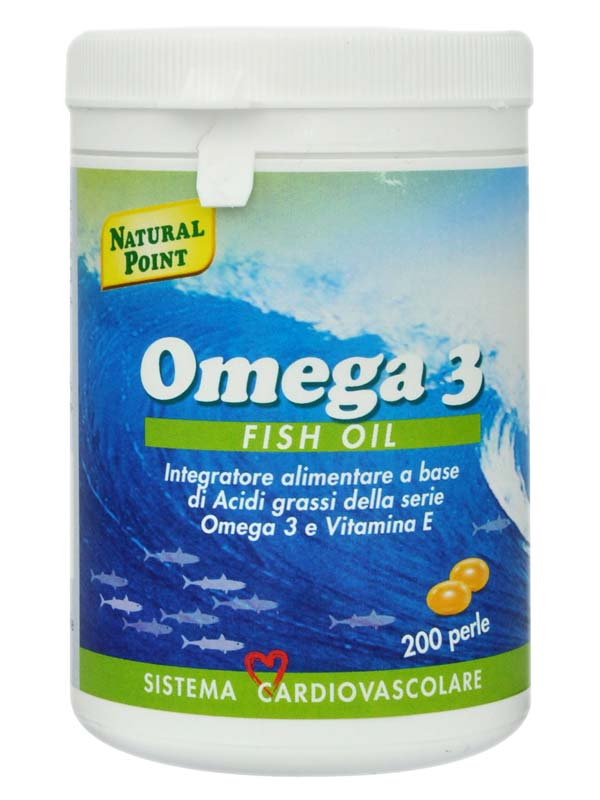 OMEGA 3 FISH OIL 200 PERLE