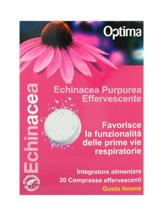 OPTIMA ECHINACEA PURPUREA EFFERVESCENTE 20 COMPRESSE