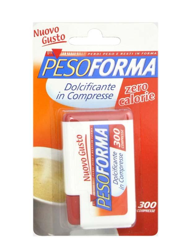 PESOFORMA DOLCIFICANTE IN COMPRESSE 300 COMPRESSE