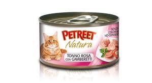 PETREET NATURA TONNO CON GAMBERETTI GR.85 - 24 CONFEZIONI