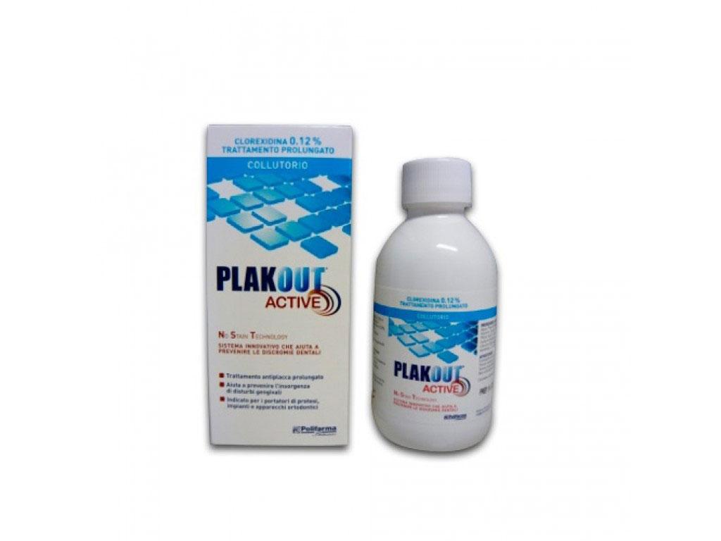 PLAK OUT ACTIVE CLOREXIDINA 0,12% COLLUTTORIO 200 ML
