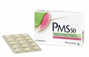 PMS 50 UTILE PER SIDROME PREMESTRUALE 30 COMPRESSE