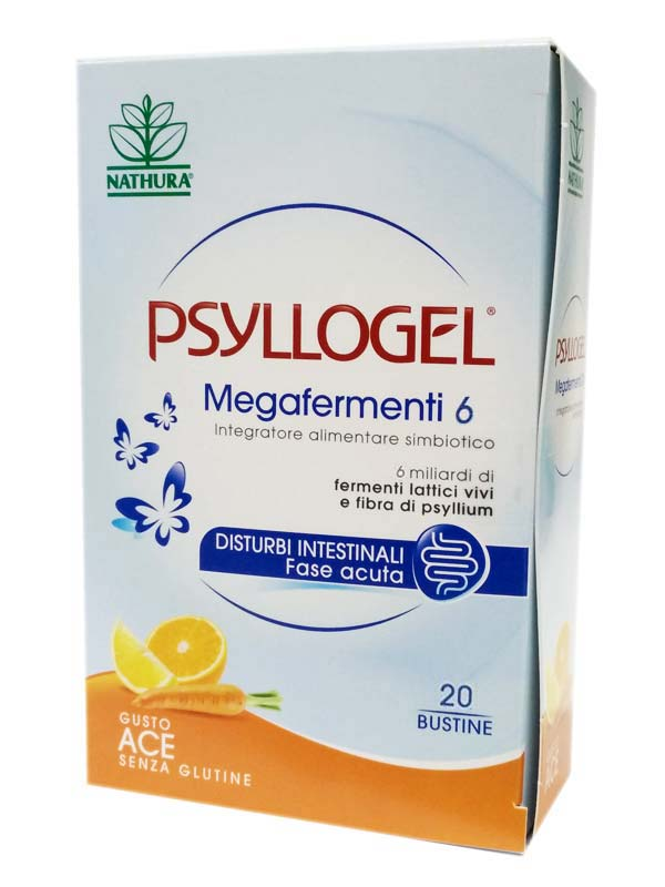 PSYLLOGEL MEGAFERMENTI 6 GUSTO ACE 20 BUSTINE