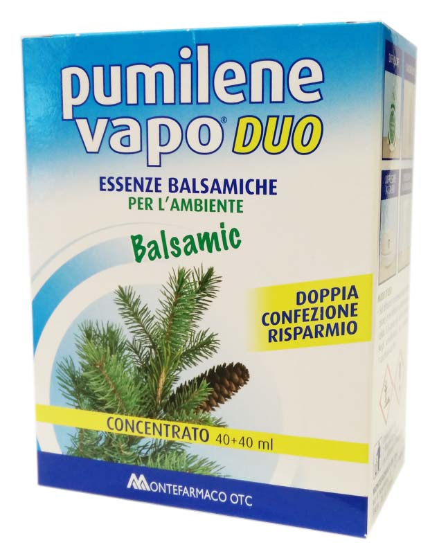 PUMILENE VAPO DUO BALSAMIC CONCENTRATO 40+40 ML