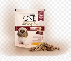 PURINA ONE MINI MY DOG IS FOOD LOVER CIBO PER CANI DI PICCOLA TAGLIA CON TACCHINO E RISO GR.800 - 8 CONFEZIONI