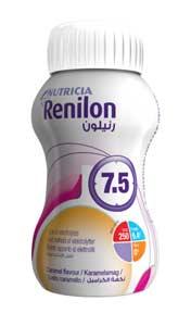 RENILON 7.5 INTEGRATORE ALIMENTARE AD ELEVATA CONCENTRAZIONE ENERGETICA GUSTO CARAMELLO - 4 x 125 ML