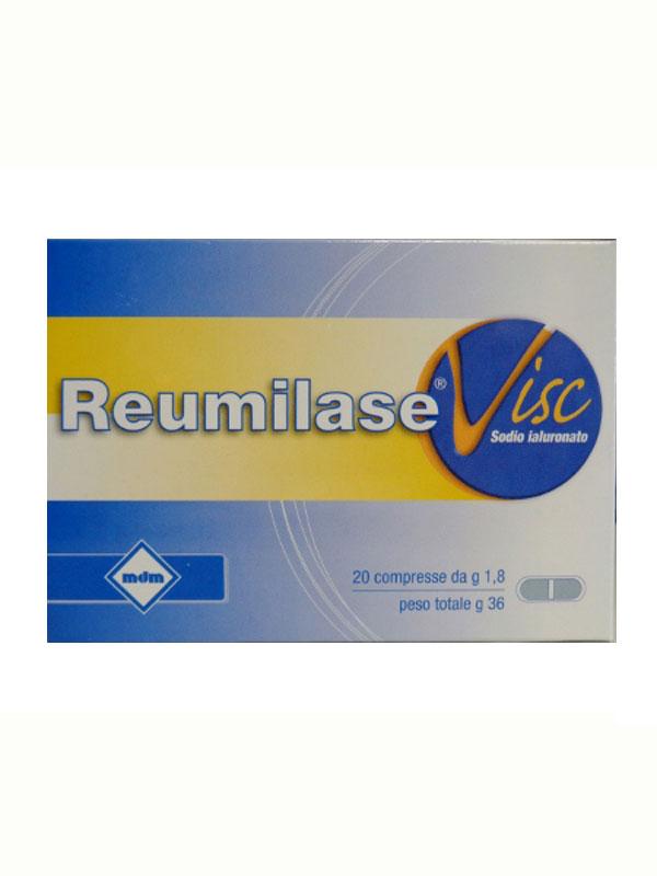 REUMILASE VISC 20 COMPRESSE  DA 1,8 G