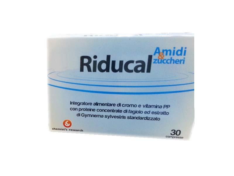 RIDUCAL AMIDI E ZUCCHERI 30 COMPRESSE