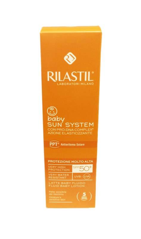 RILASTIL BABY SUN SYSTEM LATTE BABY FLUIDO SPF 50+ PROTEZIONE MOLTO ALTA - 200 ML