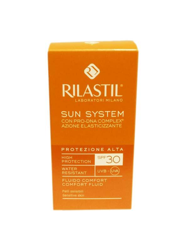 RILASTIL SUN SYSTEM FLUIDO COMFORT SPF 30 PROTEZIONE ALTA - 50 ML