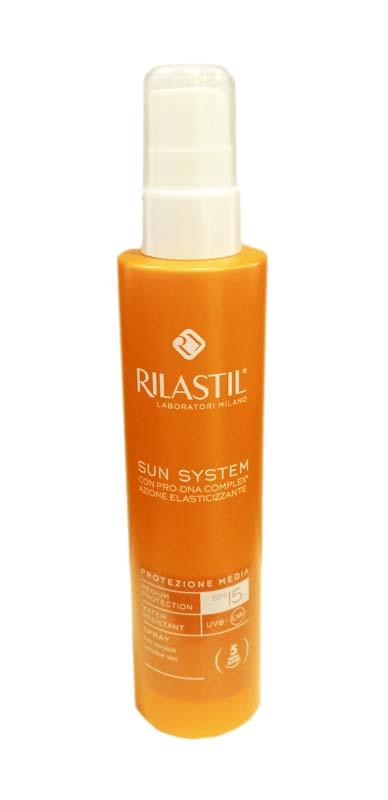 RILASTIL SUN SYSTEM SPRAY SOLARE SPF 15 PROTEZIONE MEDIA 200 ML