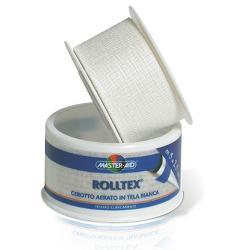 ROLLTEX CEROTTI IN TELA BIANCA SU ROCCHETTO 5 M x 2,50 CM