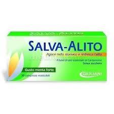 SALVA ALITO GIULIANI GUSTO MENTA - 30 COMPRESSE