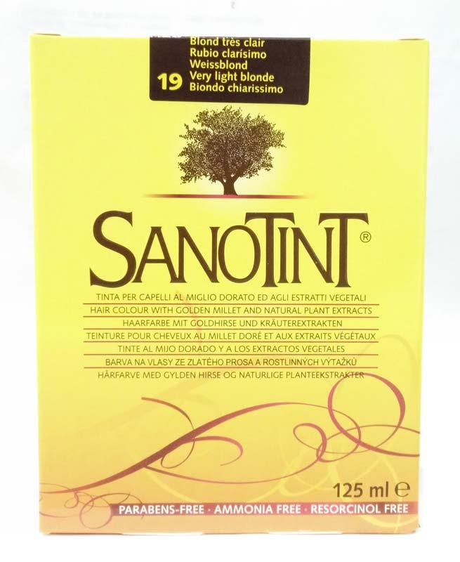 SANOTINT CLASSIC COLORE N 19 BIONDO CHIARISSIMO 125 ML
