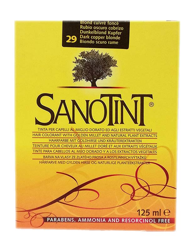 SANOTINT CLASSIC COLORE N 29 BIONDO SCURO RAME 125 ML