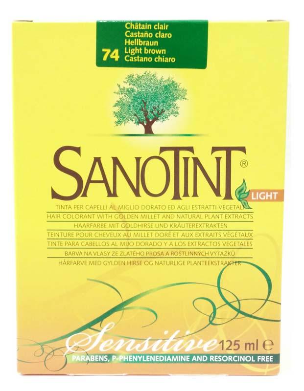 SANOTINT LIGHT SENSITIVE COLORE N 74 CASTANO CHIARO 125 ML