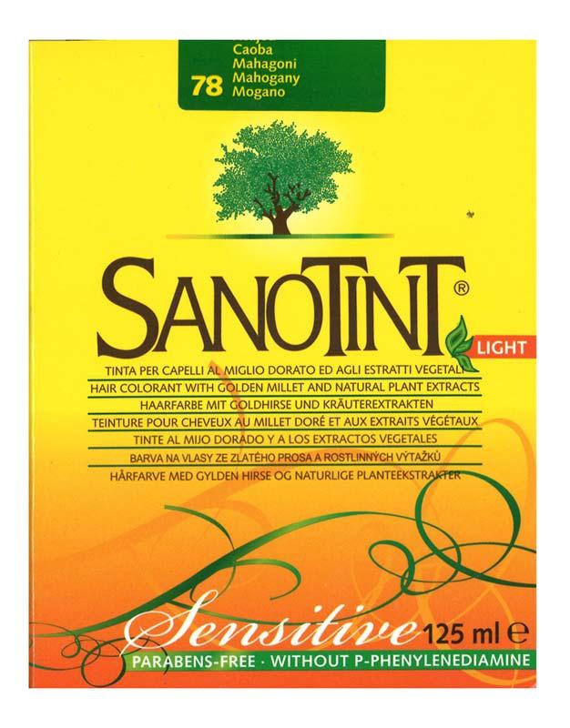 SANOTINT LIGHT SENSITIVE COLORE N 78 MOGANO 125 ML