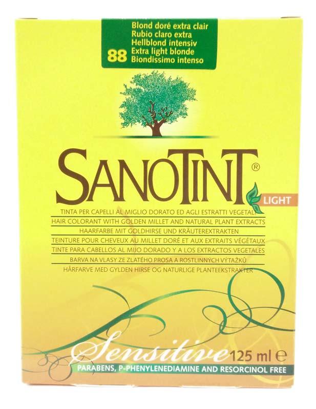SANOTINT LIGHT SENSITIVE COLORE N 88 BIONDISSIMO INTENSO 125 ML