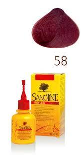 SANOTINT REFLEX RIFLESSANTE DELICATO PER CAPELLI AL MIGLIO DORATO N. 58 ROSSO MOGANO - 80 ML
