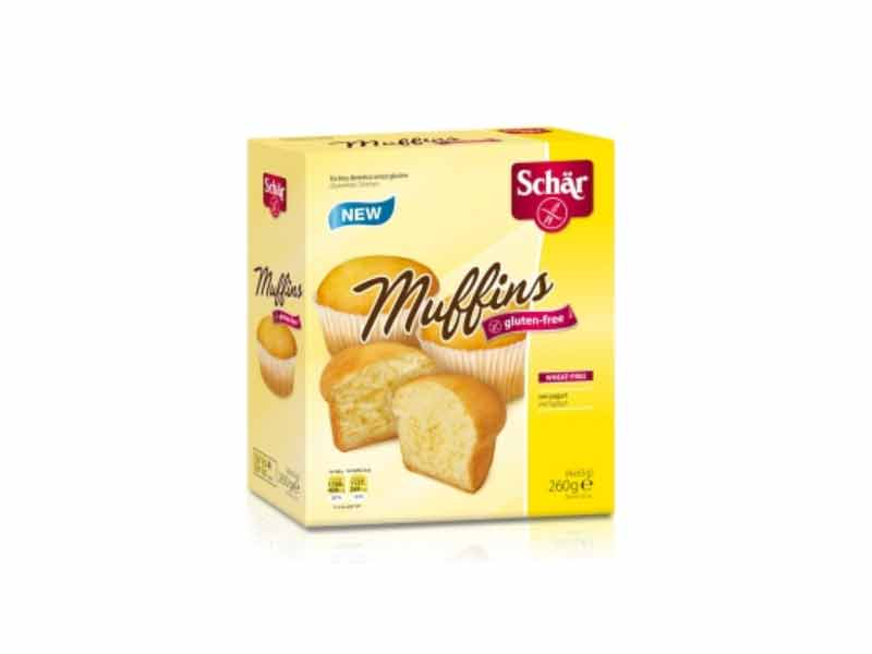 SCHAR DOLCI - MUFFINS SENZA GLUTINE - 4 x 65 G