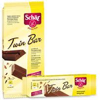 SCHAR DOLCI - TWIN BAR BARRETTA CON CIOCCOLATO SENZA GLUTINE - 3 x 21,5 G