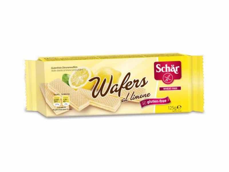 SCHAR DOLCI - WAFER AL LIMONE SENZA GLUTINE - 125 G