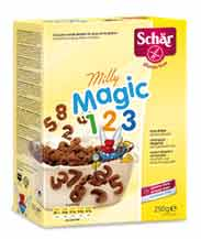 SCHAR MILLY MAGIC 1-2-3 CEREALI AL CIOCCOLATO SENZA GLUTINE - 250 G