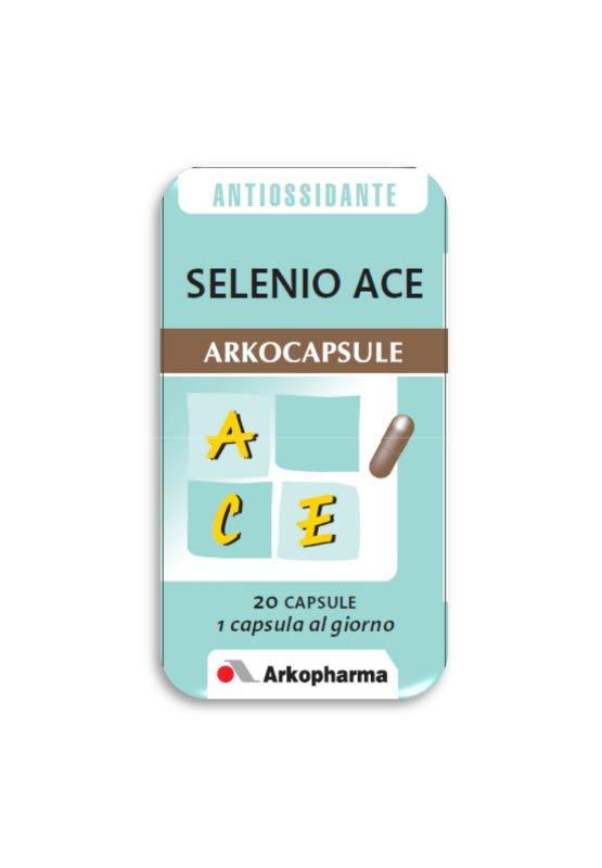 SELENIO ACE ARKOCAPSULE 20 CAPSULE