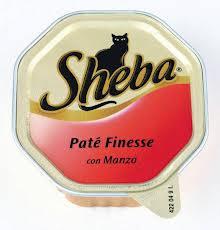 SHEBA PATE CON MANZO GR.100 - 32 CONFEZIONI