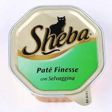 SHEBA PATE CON SELVAGGINA GR.100 - 32 CONFEZIONI