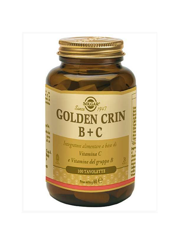 SOLGAR GOLDEN CRIN B+C 100 TAVOLETTE
