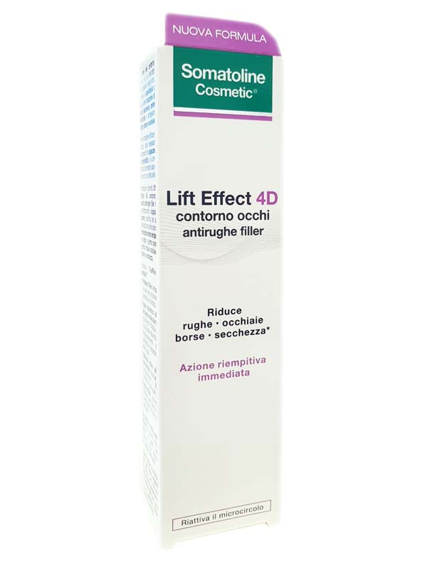 SOMATOLINE COSMETIC LIFT EFFECT 4D CONTORNO OCCHI ANTIRUGHE FILLER 15 ML