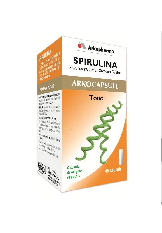 SPIRULINA ARKOCAPSULE 45 CAPSULE