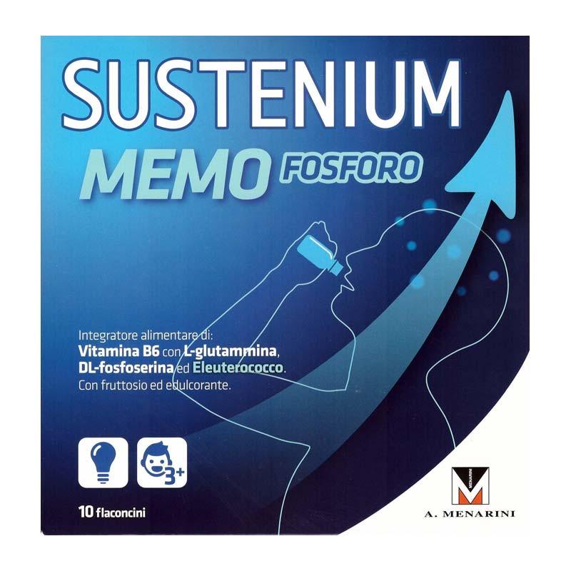 SUSTENIUM MEMO FOSFORO 10 FLACONCINI DA 10 ML