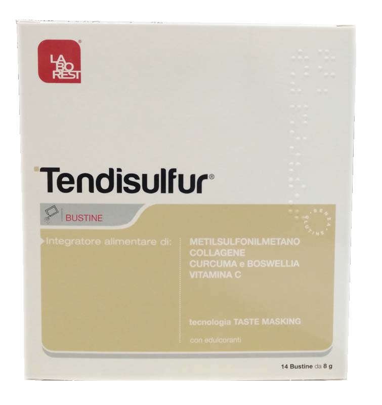 TENDISULFUR 14 BUSTINE DA 8 G