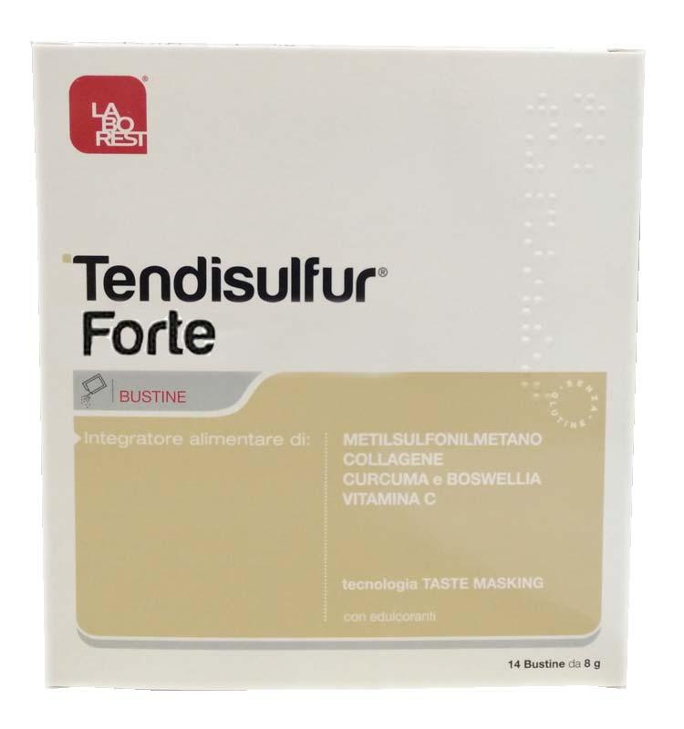 TENDISULFUR FORTE 14 BUSTINE DA 8 G