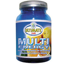 ULTIMATE ITALIA MULTI ENERGY GUSTO LIMONE - 500 G