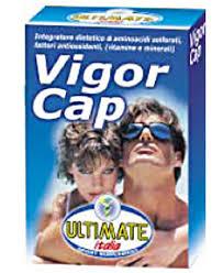 ULTIMATE ITALIA VIGOR CAP - BENESSERE DI CAPELLI E UNGHIE - 48 CAPSULE