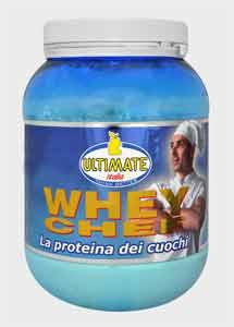 ULTIMATE ITALIA WHEY CHEF - LA PROTEINA DEI CUOCHI - 700 G