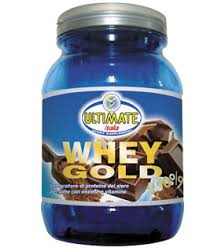 ULTIMATE ITALIA WHEY GOLD 100 PERCENTO GUSTO BANANA - 750 G