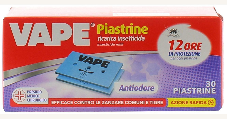 VAPE ZANZARE ANTIODORE 30 PIASTRINE