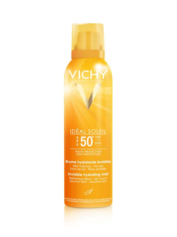 VICHY IDEAL SOLEIL SPRAY INVISIBILE IDRATANTE SPF 50+ 200 ML