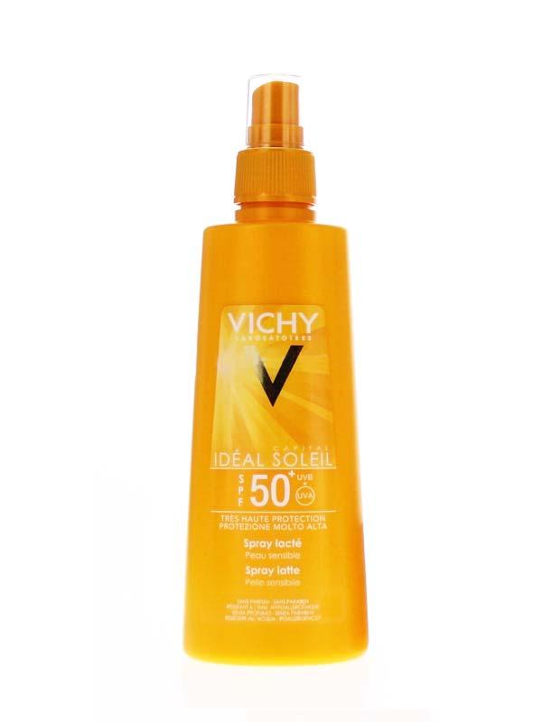 VICHY IDEAL SOLEIL SPRAY LATTE SPF 50+ 200 ML