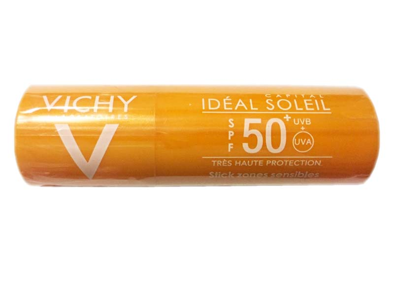 VICHY IDEAL SOLEIL STICK ZONE SENSIBILI SPF 50+ 9 G