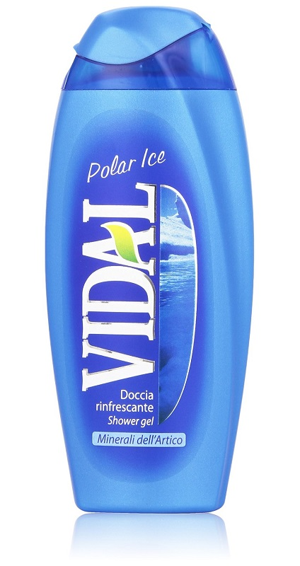 VIDAL DOCCIA RINFRESCANTE POLAR ICE - 250 ML